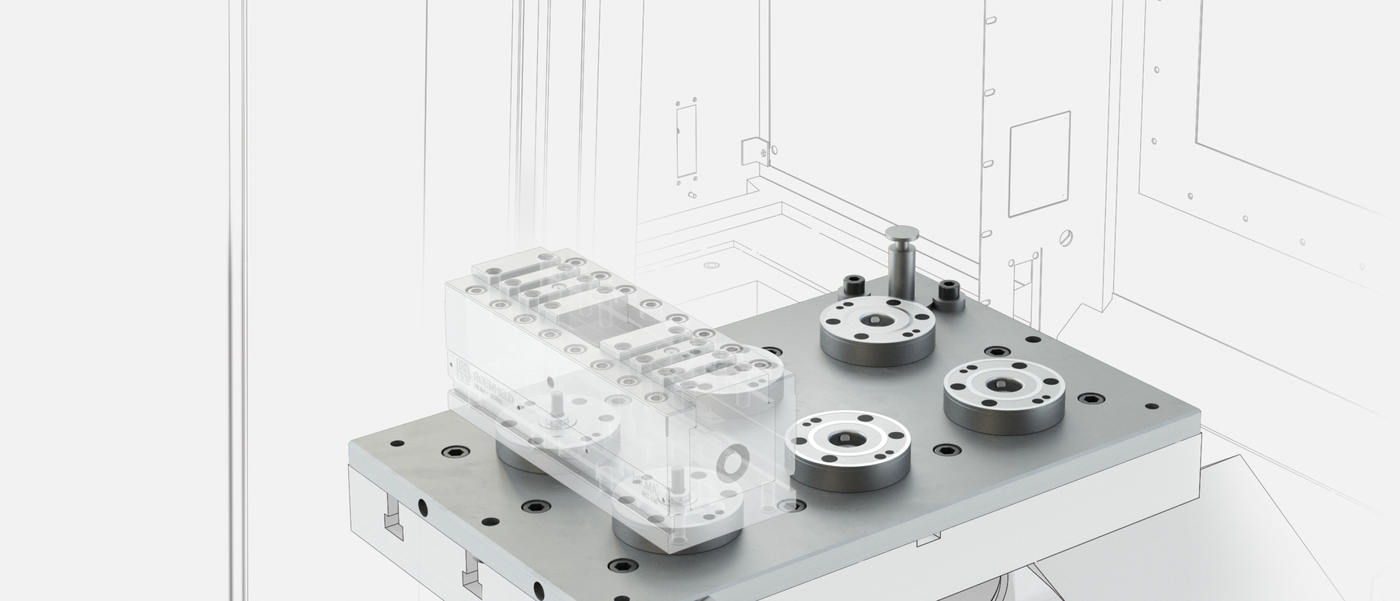 STARK.easyclick application example milling machines